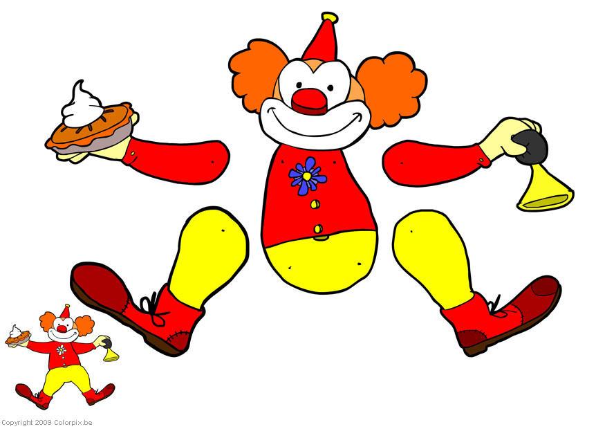 basteln clown marionette basteln f252r kinder 14304