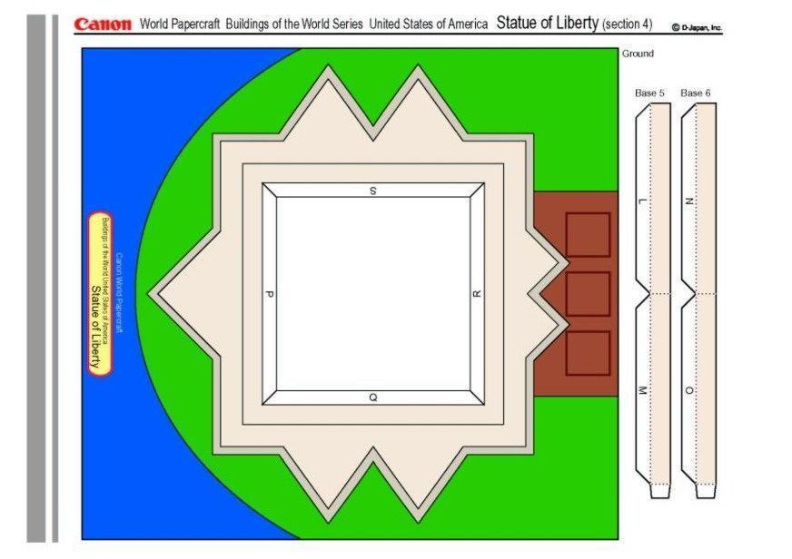 basteln freiheitsstatue 4 basteln f r kinder 15520. Black Bedroom Furniture Sets. Home Design Ideas