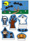 Basteln Halloween Diorama