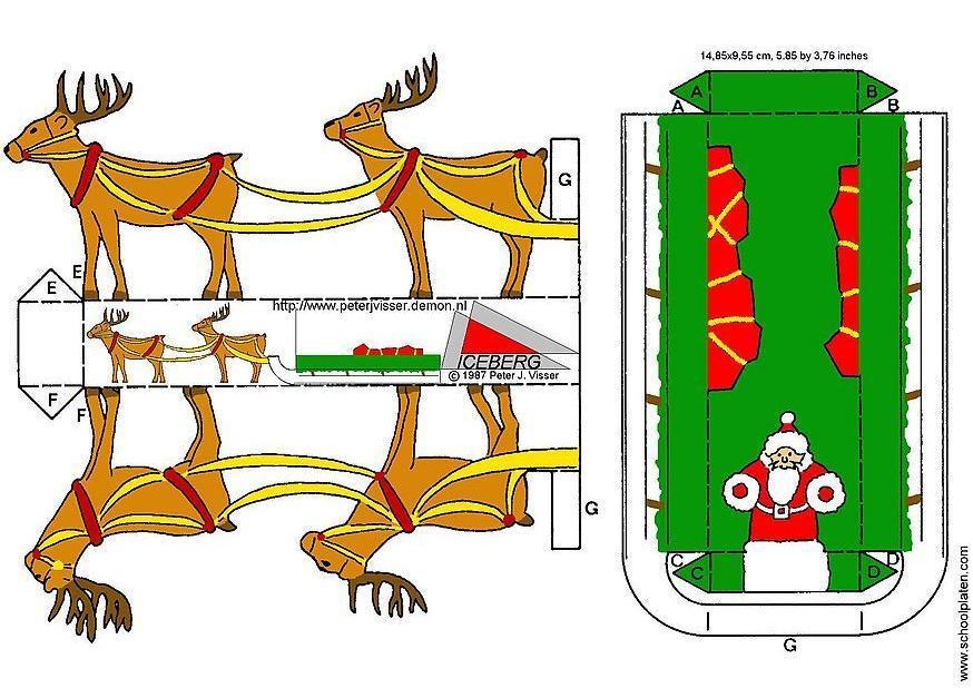 Christmas Sleigh Craft