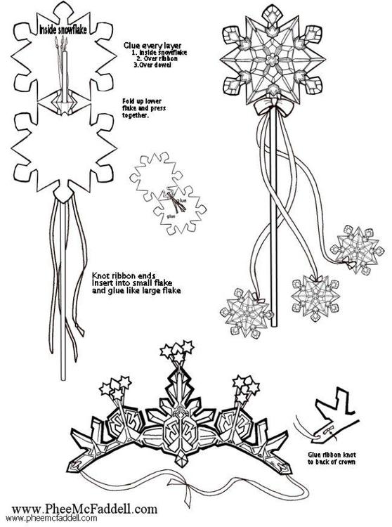 basteln schneeflocken basteln f r kinder 6120. Black Bedroom Furniture Sets. Home Design Ideas