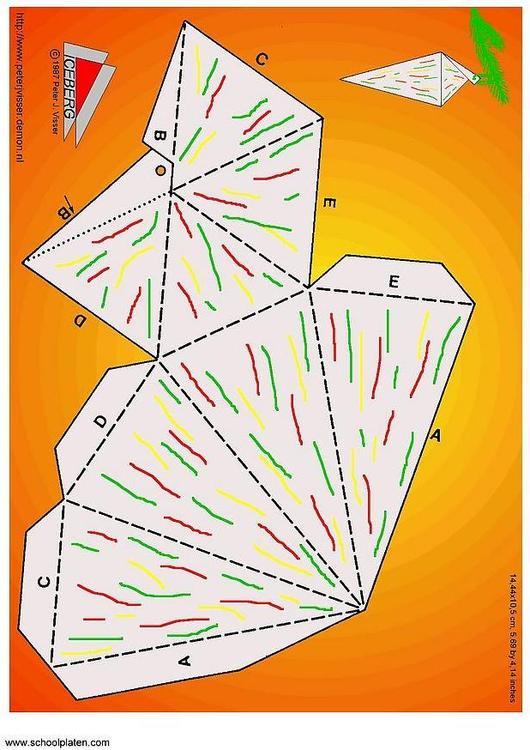 Basteln weihnachtsbaumschmuck basteln f r kinder 3411 - Weihnachtsgirlande basteln ...