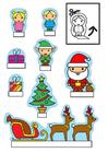 Basteln Weihnachtsdiorama
