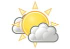 Bild 01 - bewölkt mit Sonne