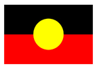 Bild Aboriginale Flagge