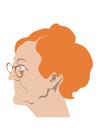 Bild alte Frau