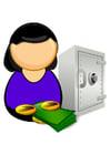 Bild Bankangestellte