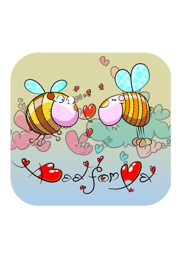 Bild Bienen - Kostenlose Bilder Zum Ausdrucken.