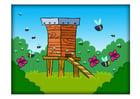 Bild Bienenkorb