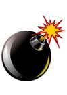 Bild Bombe