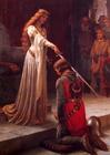 Bild der Ritterschlag