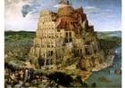 Bild der Turm von Babel von Pieter Brueghel dem Älteren