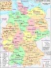 Bild Deutschland - politische Karte 2007