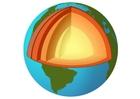 Bild Durchschnitt Erde