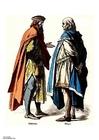 Bild Edelmann und Bürger (14.Jahrhundert)