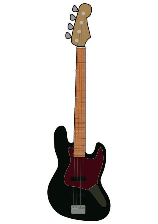 Bild elektrische Bassgitarre Fender - Abb. 10456