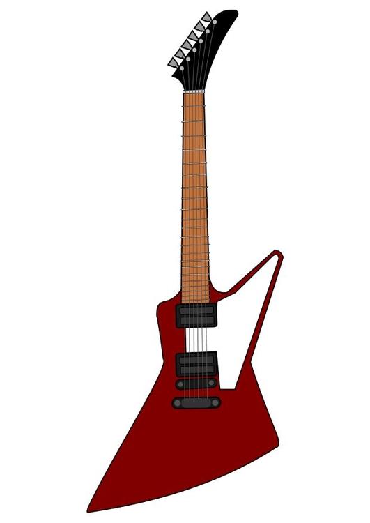 Bild elektrische Gitarre Gibson - Abb. 10458