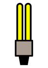 Bild Energiesparglühbirne