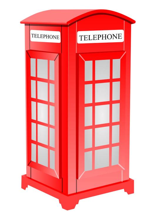 Bild Englische Telefonzelle Abb 26189