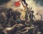 Bild Eugene Delacroix - Die Freiheit führt das Volk - Französische Revolution