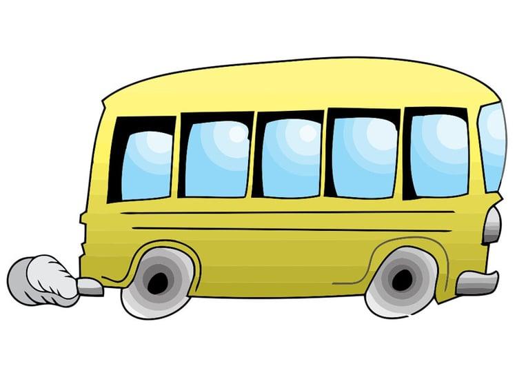 Картинки автобус едет