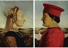 Bild Federico da Montefeltro und seine Frau, Battista Sforza