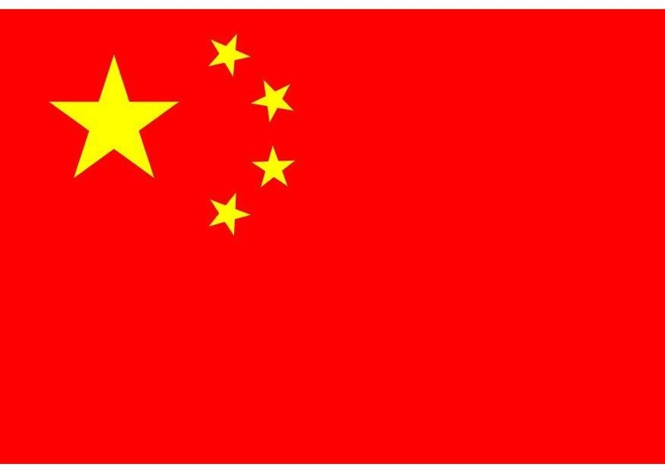 Bild Flagge Volksrepublik China