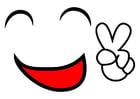 Bild Friedenslächeln