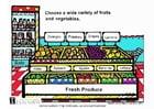 Bild Frisches Obst und Gemüse