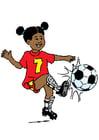 Bild Fussball spielen