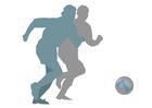 Bild Fußball spielen