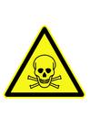 Bild Gefahrenzeichen - giftige Substanzen