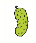 Bild Gewürzgurke in Farbe