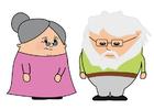 Bild Großvater und Großmutter