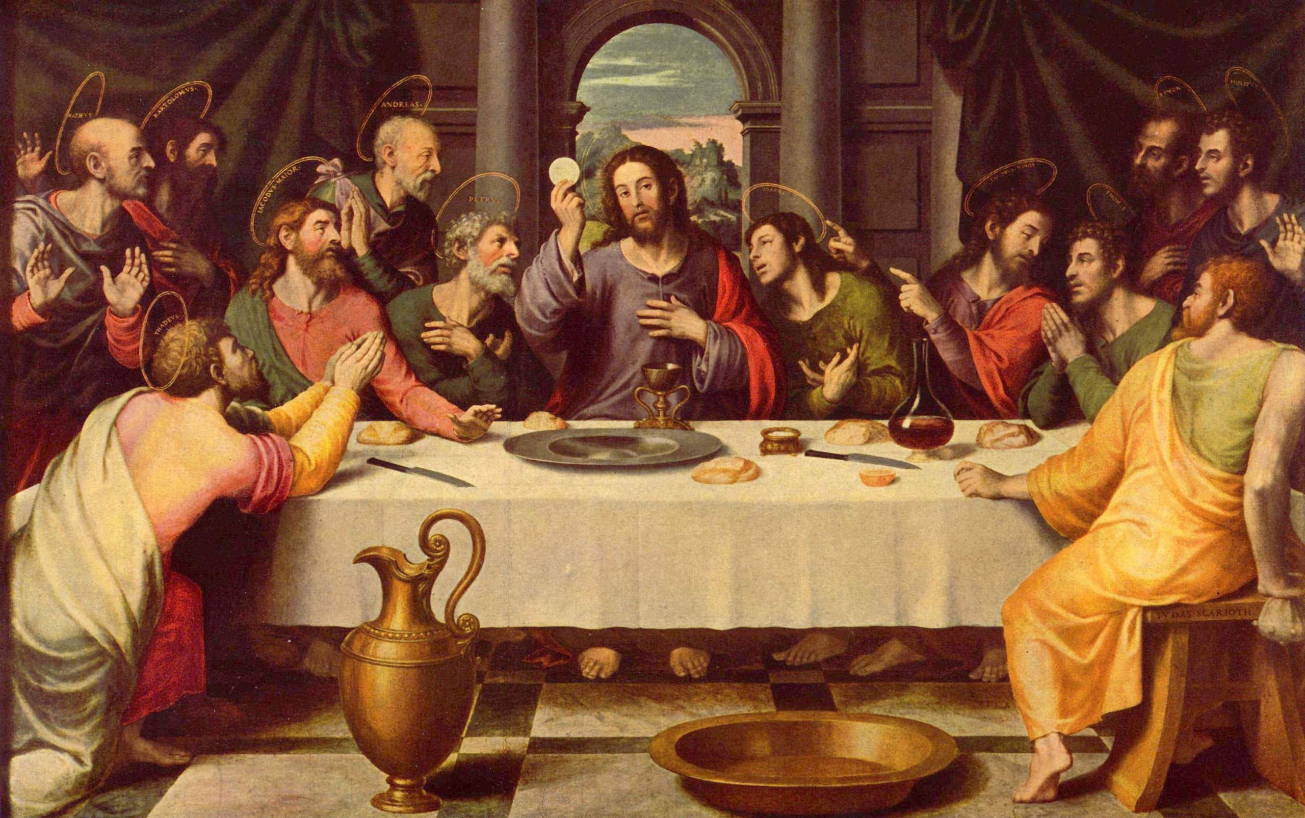 Bild Gründonnerstag - das letzte Abendmahl - Abb. 21735