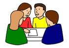 Bild Gruppenarbeit