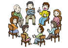 Bild Gruppengespräch