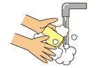 Bild Hände waschen