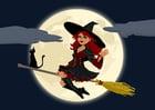 Halloweenhexe
