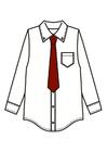 Bild Hemd mit Krawatte