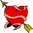 Bild Herz mit Pfeil