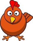 Bild Huhn