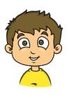 Bild Junge mit braunem Haar