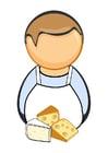 Bild Käsehändler