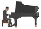 Bild Klavier spielen