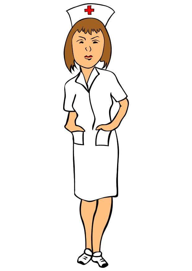 bild krankenschwester  kostenlose bilder zum ausdrucken