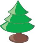 Bild leerer Weihnachtsbaum