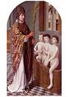 Bild Legende - Sankt Nikolaus wiederbelebt Kinder