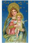 Bild Maria und Jesus