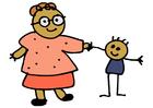 Bild Mutter und Kind